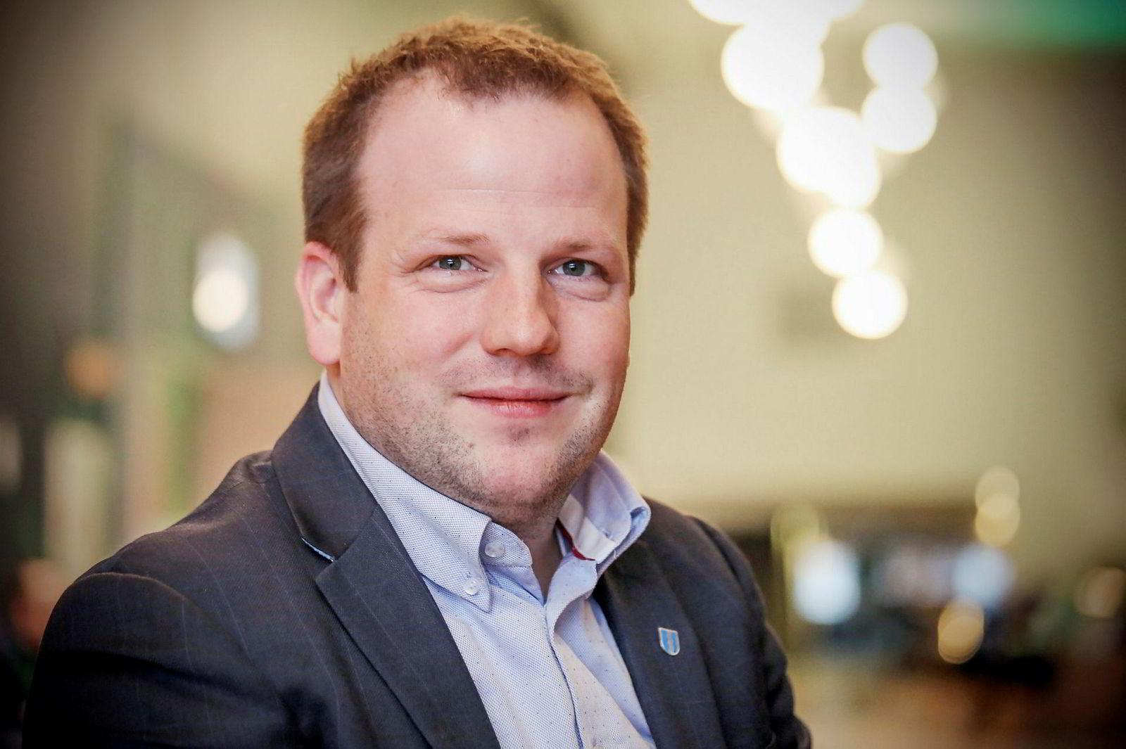 Ordfører Asbjørn Birkeland i Sauda kommune.