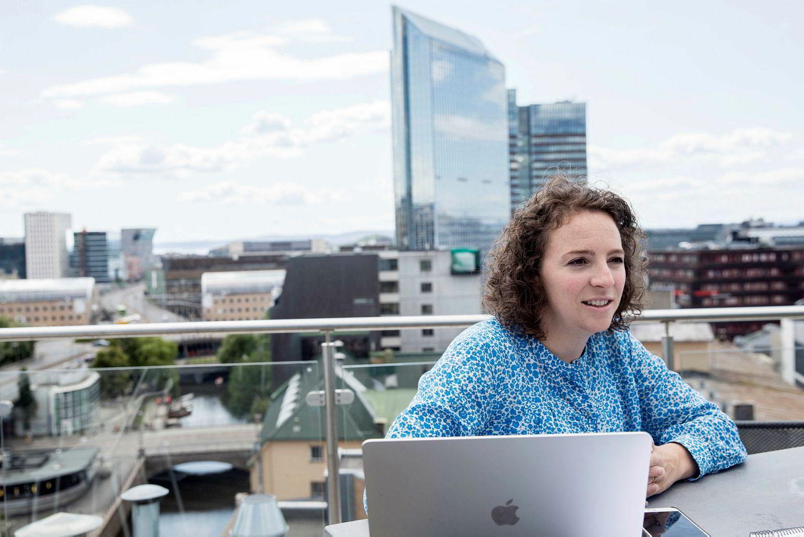 Daglig leder i Too Good To Go Ann-Kristin Raknes Pfründer er fornøyd med brukerveksten til selskapet.