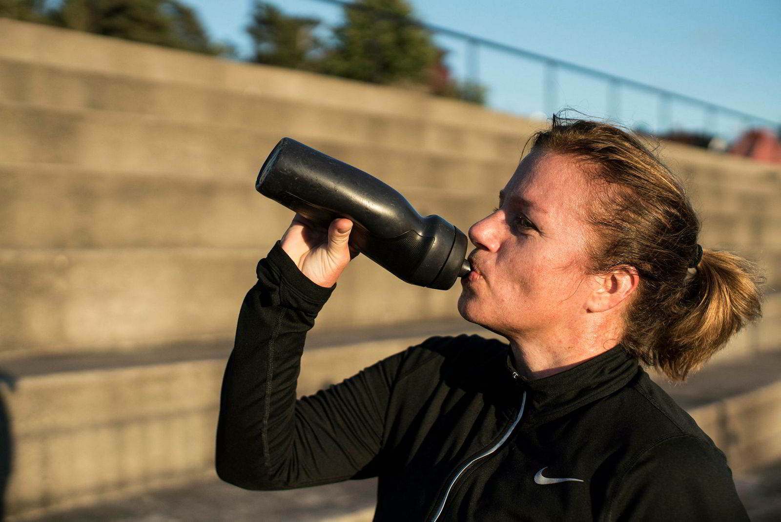 Ina Jagtøien begynte med trappetrening da hun fikk problemer med akillessenen og trengte en treningsform som var skånsom, men samtidig fikk opp pulsen.