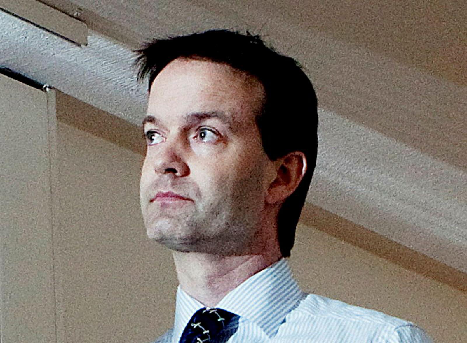 Dømt til fengsel. Tidligere finansdirektør Bjørn Ottar Toften.
