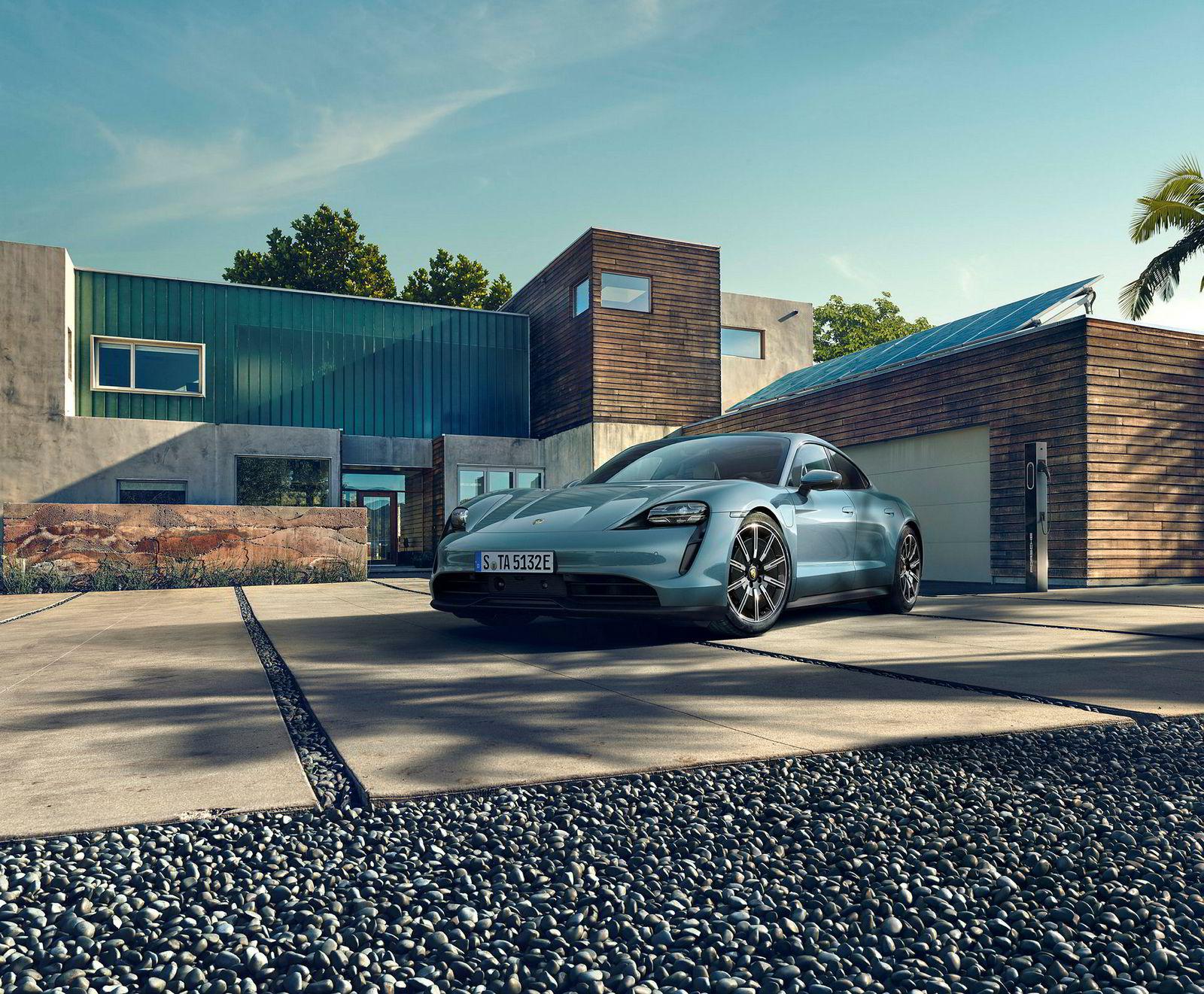 Porsche Taycan kommer i en billigere 4S-versjon.