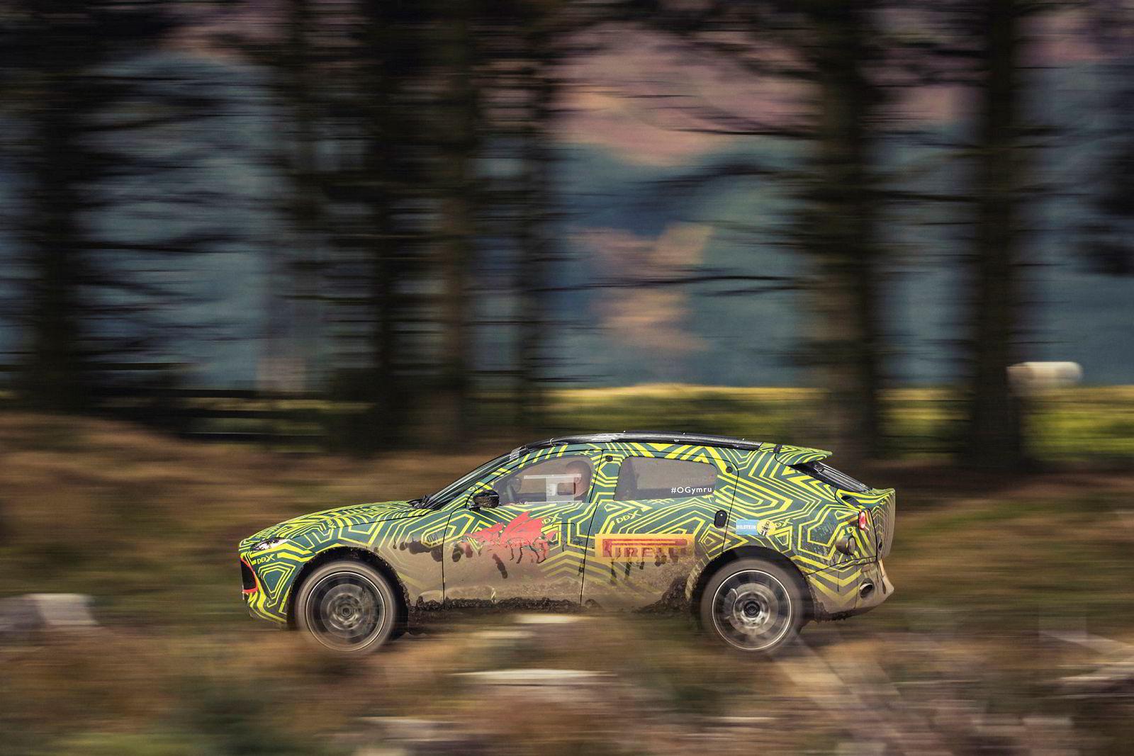 Aston Martin DBX – merkets første suv.