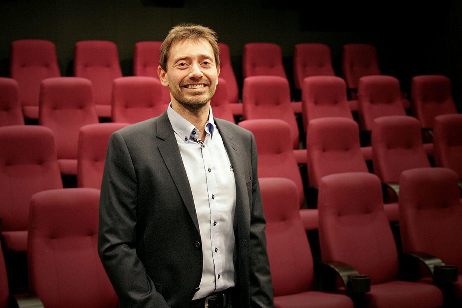 Administrerende direktør Ronny Lieblein i Media Direct Norge, markedsleder på kinoreklame i Norge, sier Karpe Diem ikke har skapt storinnrykk av annonsører.