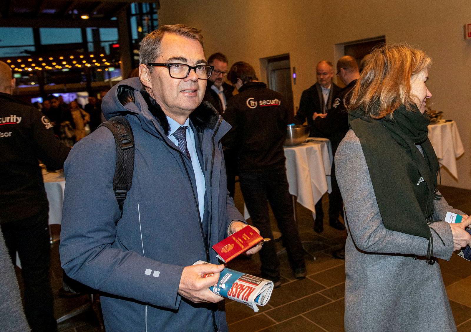 Tidligere Hydro-sjef Svein Richard Brandtzæg er klokkeklar på at geopolitisk uro er dårlig nytt for norsk næringsliv.