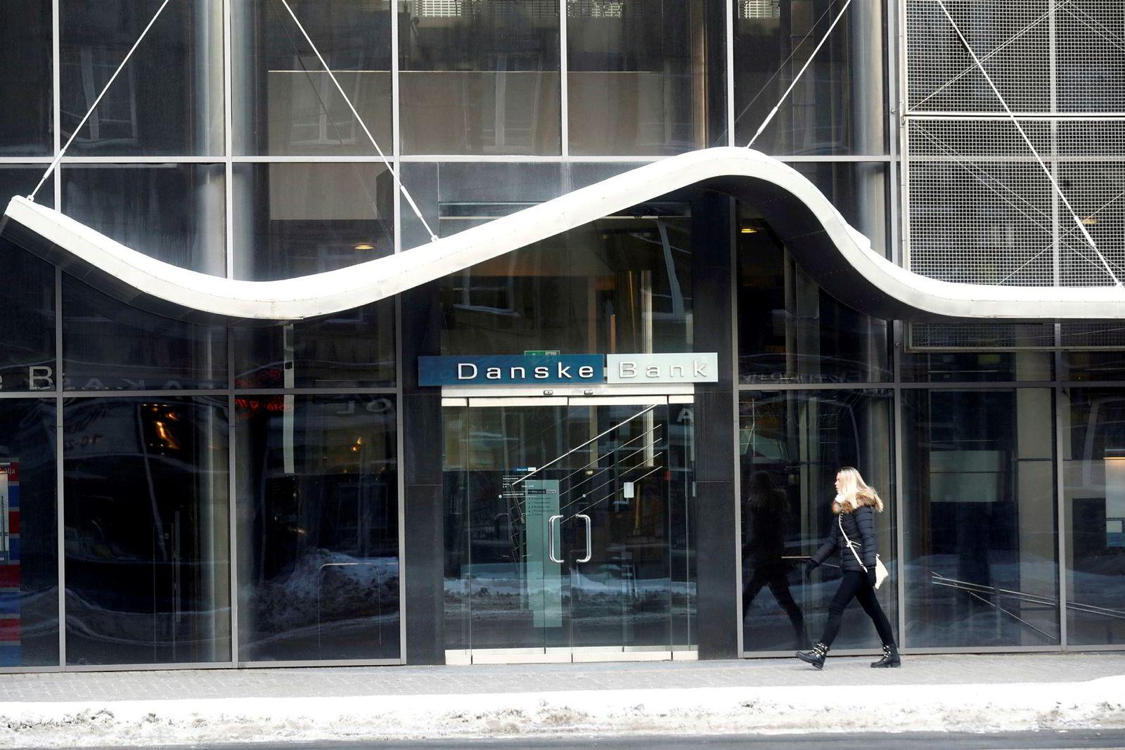 Fra Danske Banks tidligere filial and Estland, som nå er stengt.