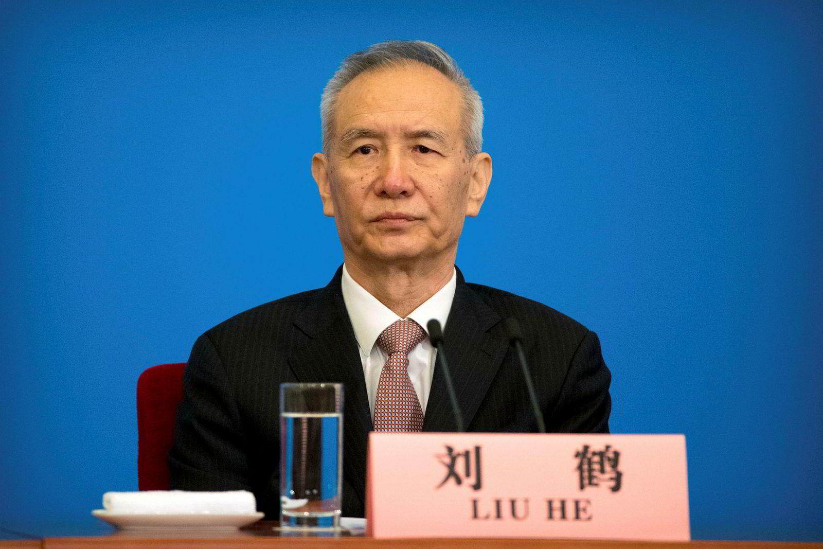 Kinas visestatsminister Liu He leder handelsforhandlingene med USA som begynner denne uken.