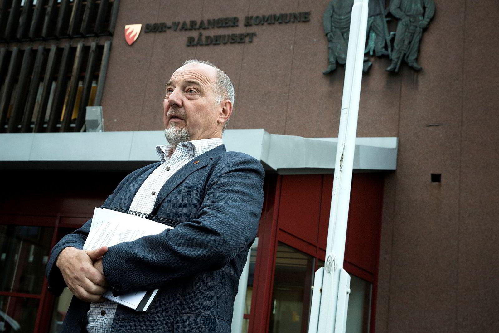 Rune Rafaelsen (AP), ordfører i Sør-Varanger kommune.