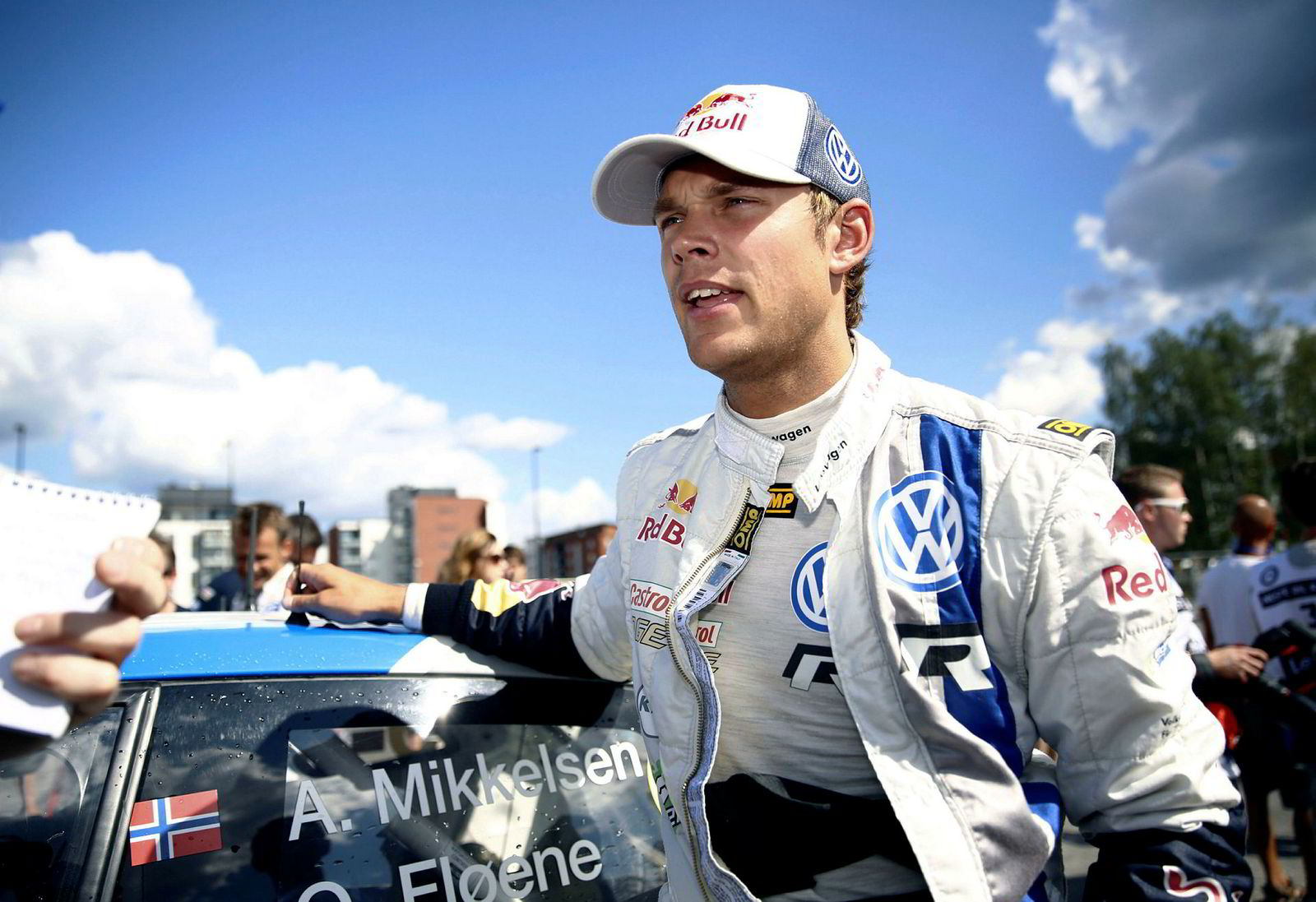 Rallysjåfør Andreas Mikkelsen har utviklet Hipdrivers sammen med sin bror.