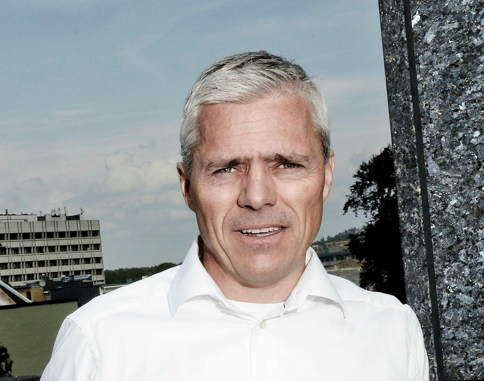 Rasmussengruppen i Kristiansand, her ved administrerende direktør Dag Rasmussen, er desidert største aksjonær i Nordic Aquafarms.