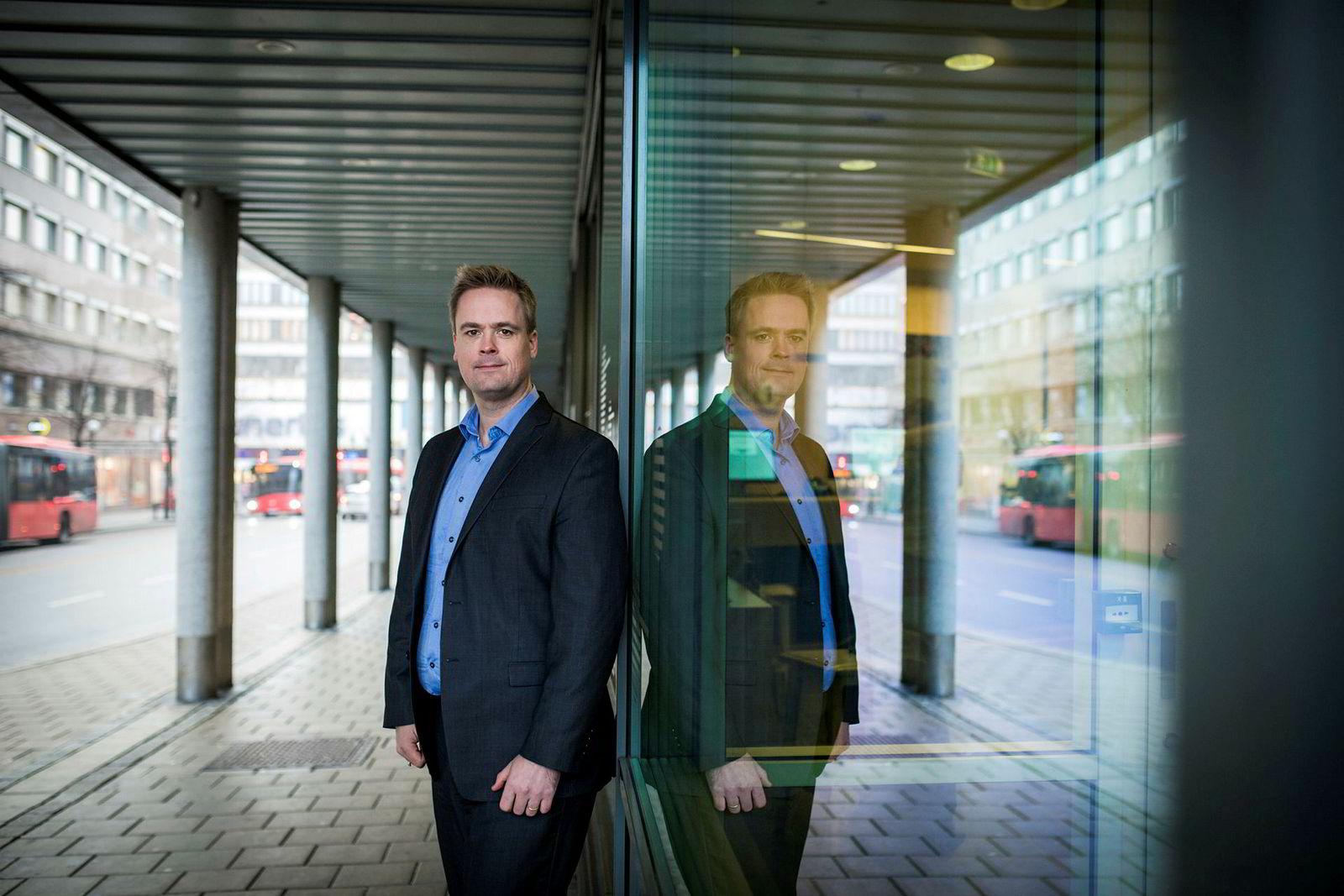 Endre Jo Reite i BN Bank.