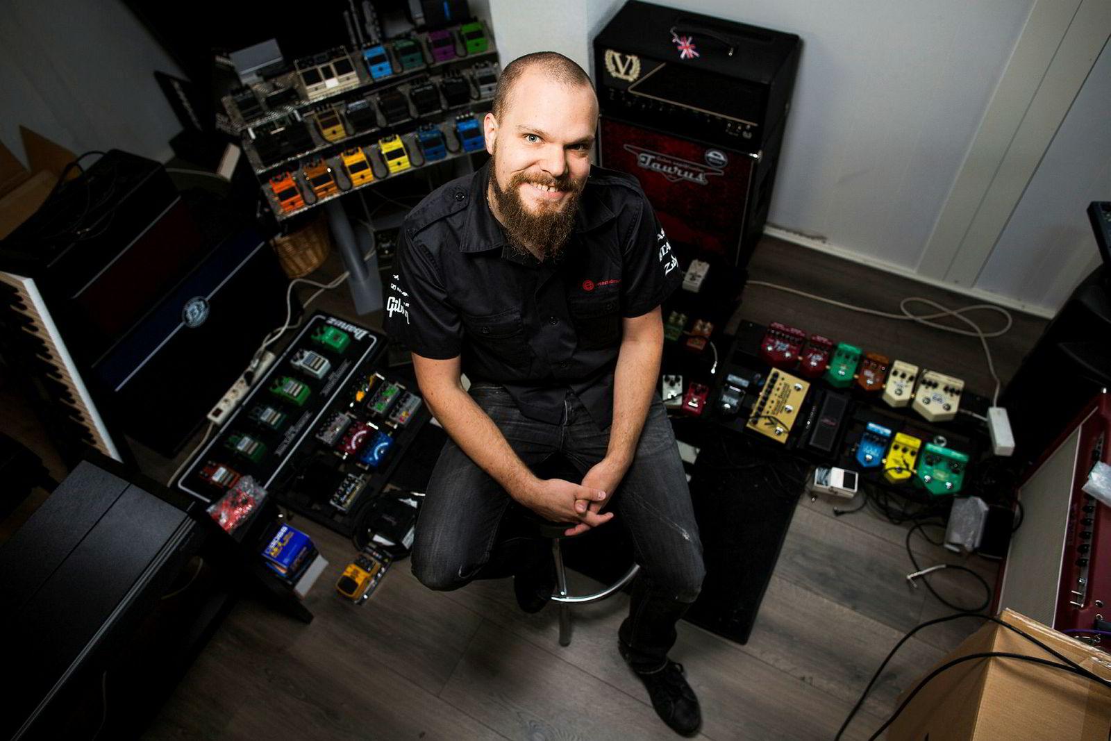 Geir Magnus Evenstad er eier av Evenstad Musikk som de siste årene har konkurrert mot 4Sound.