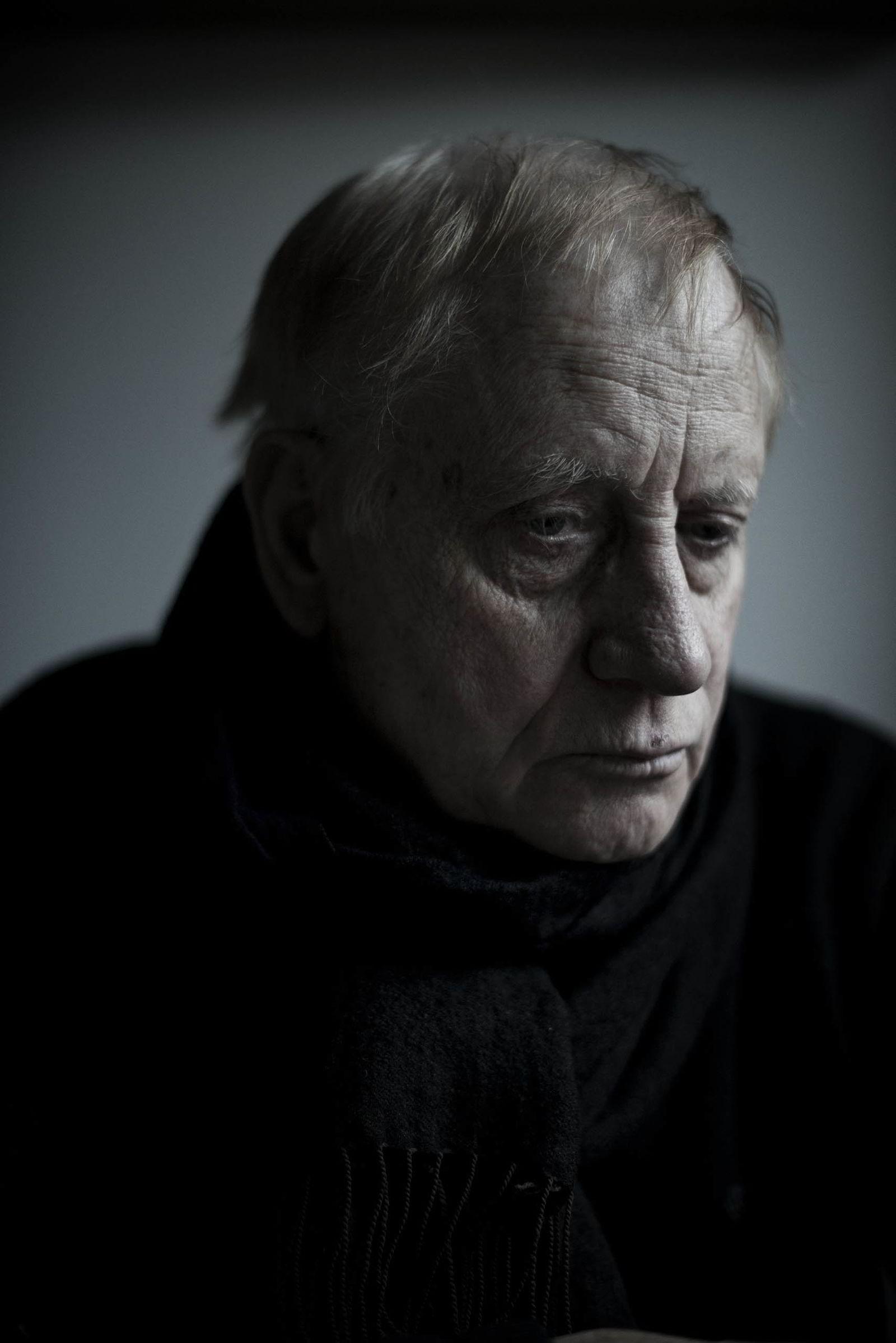 PORTRETT. Tredjeplassen fikk Thomas Haugersveen for portrettet av Gunnar Torgersen (76)