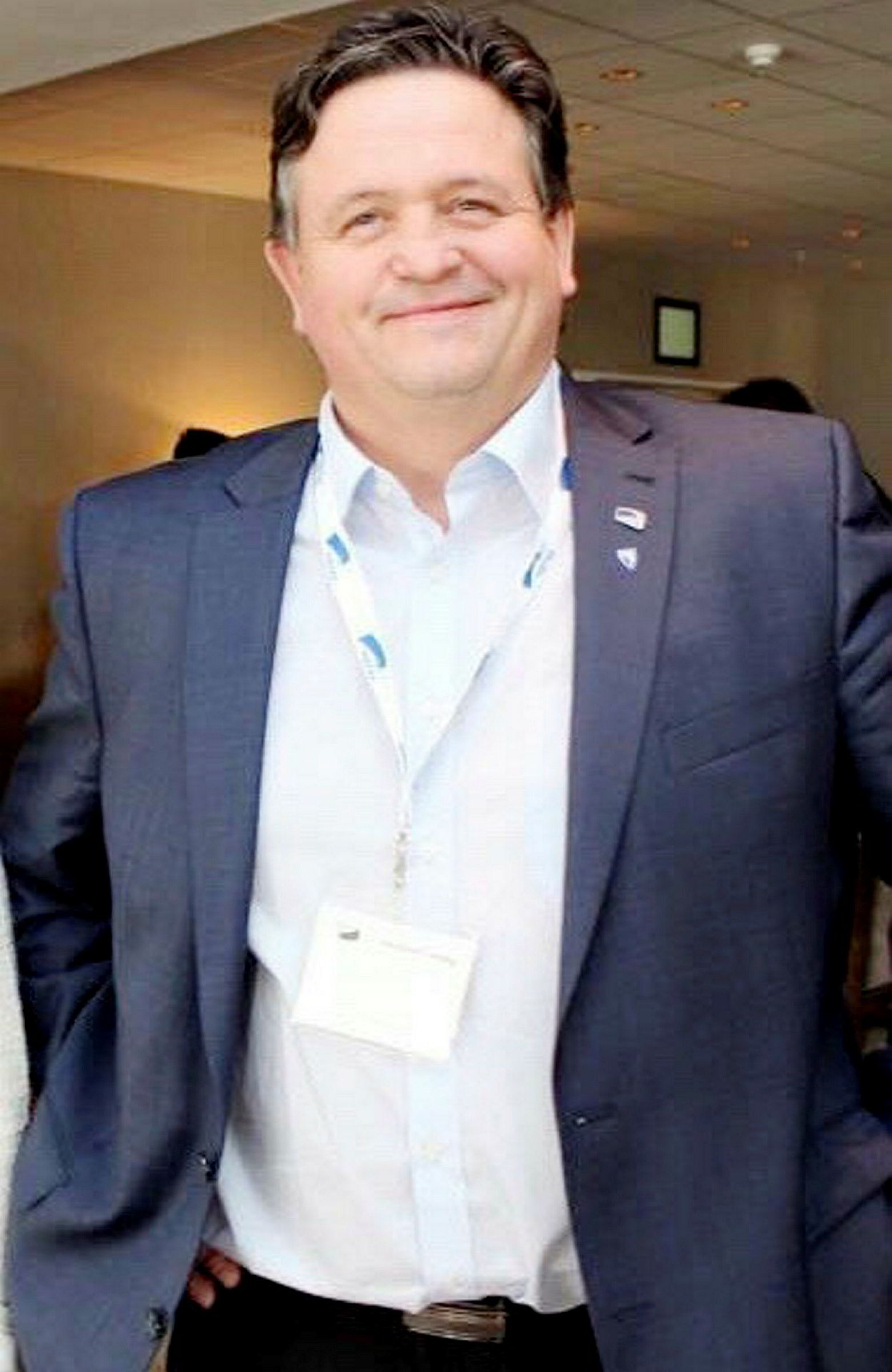 Ordfører Eivind Holst i Vågan kommune.