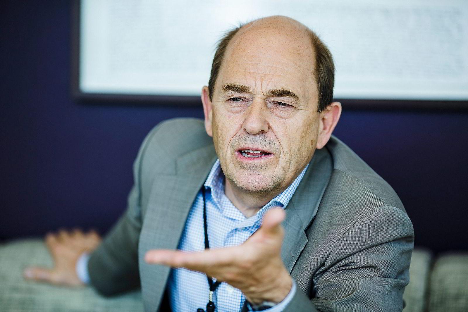 ... og tidligere konserndirektør i Statoil Peter Mellbye (66). Foto: