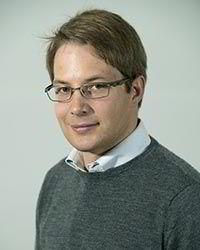 Forsker Patrick Narbel ved NHH.