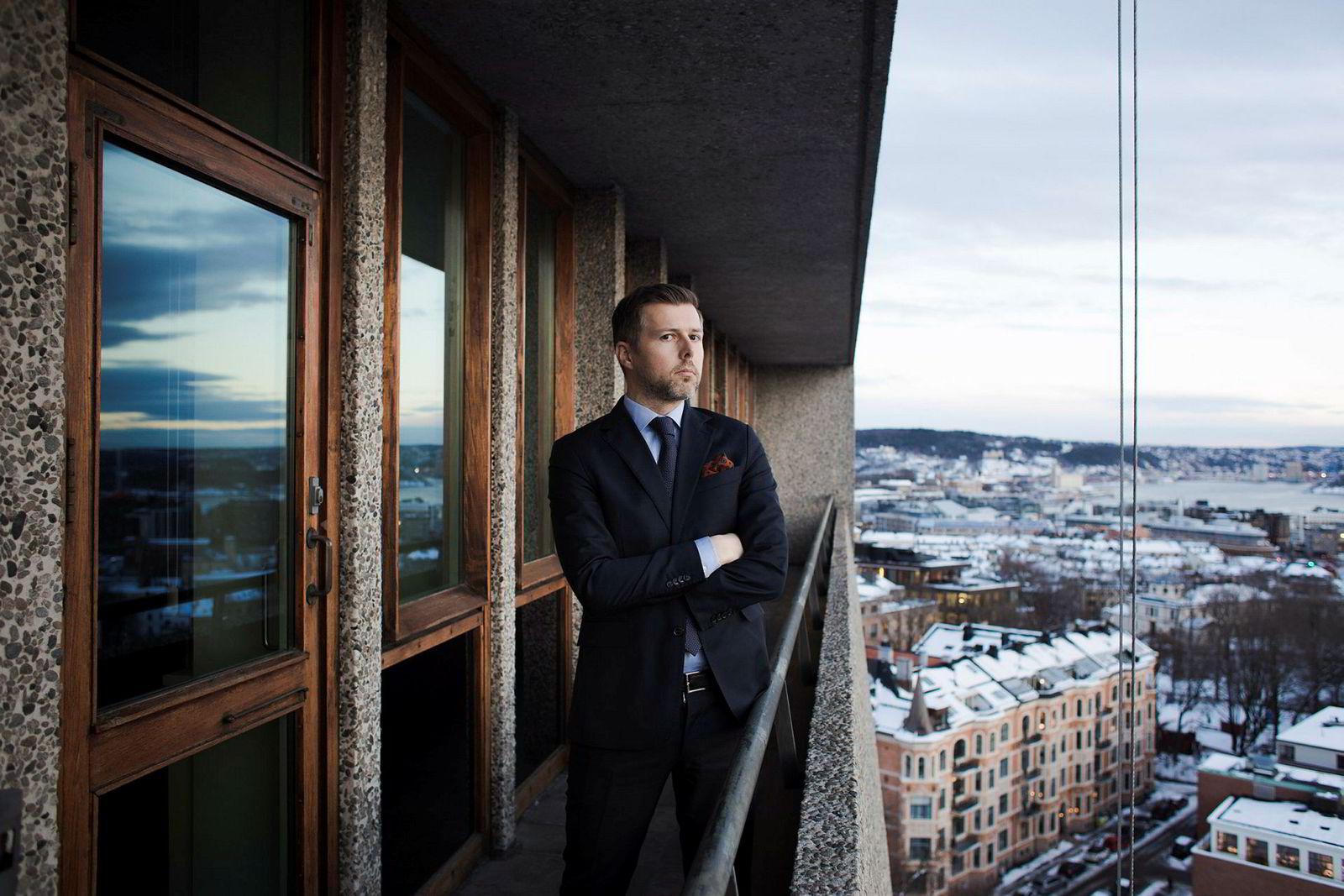 Simen Klevstrand i Advokatfirmaet Haavind mener tyske myndigheter har vært kreative.