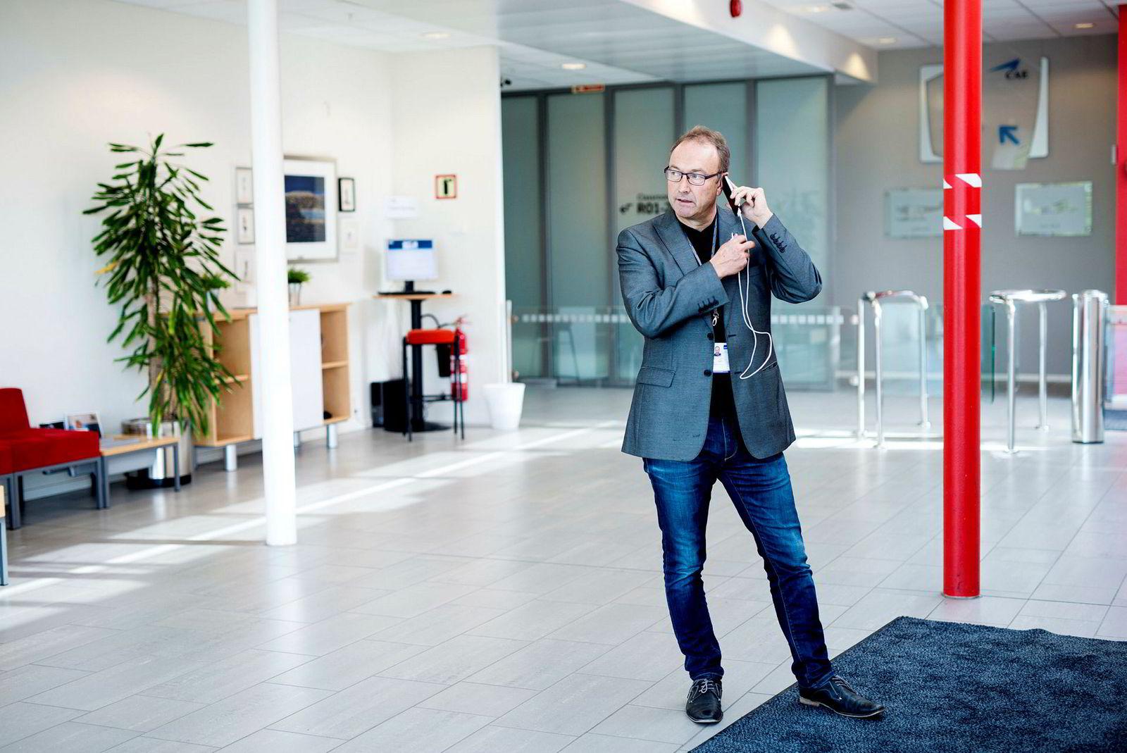 Knut Morten Johansen, kommunikasjonssjef i SAS, sier selskapet vil følge presedens av dommen dersom den blir rettskraftig i Norge.