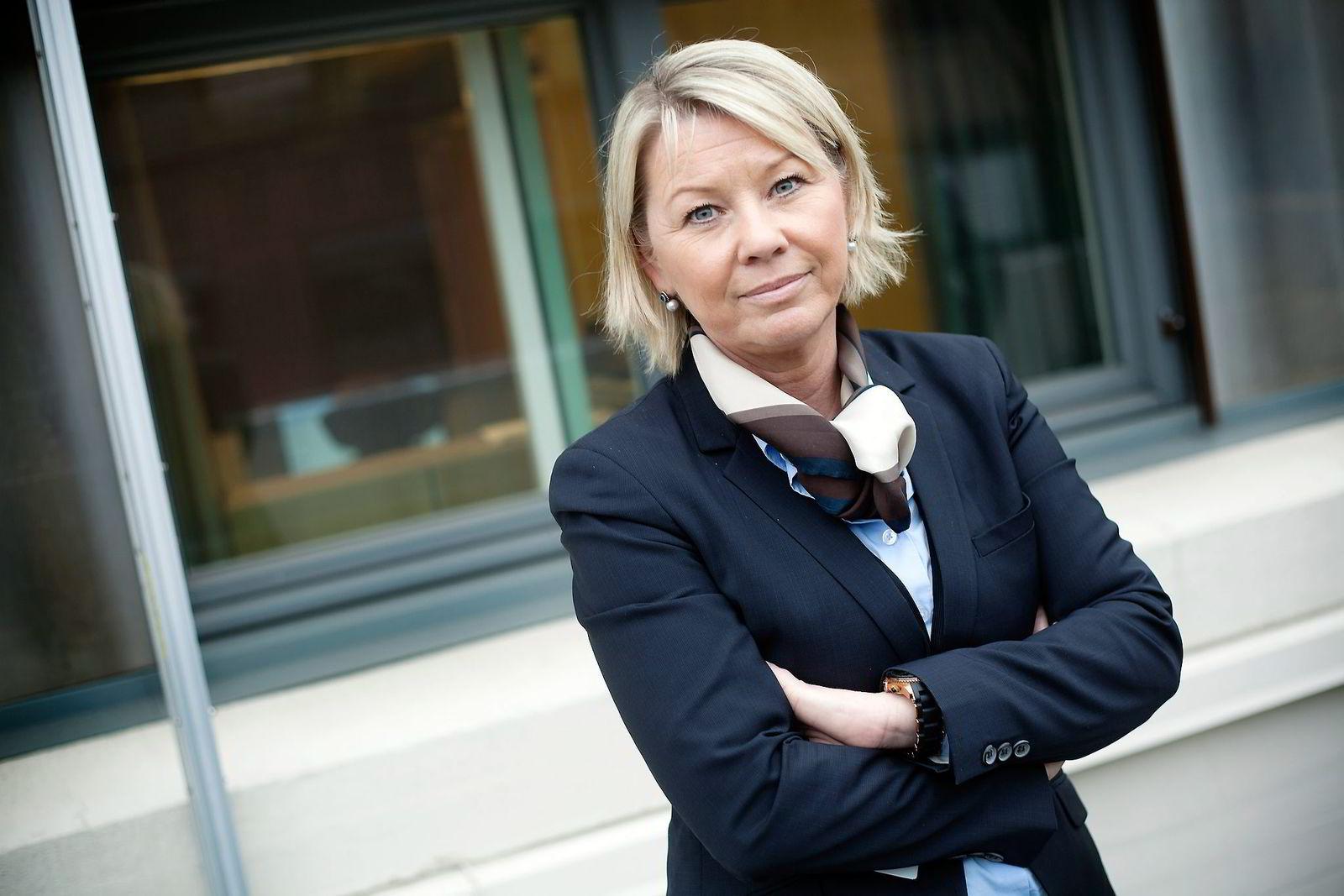 REPUBLIKANER. Næringsminister Monica Mæland er den første Høyre-statsråden som er mot monarkiet.