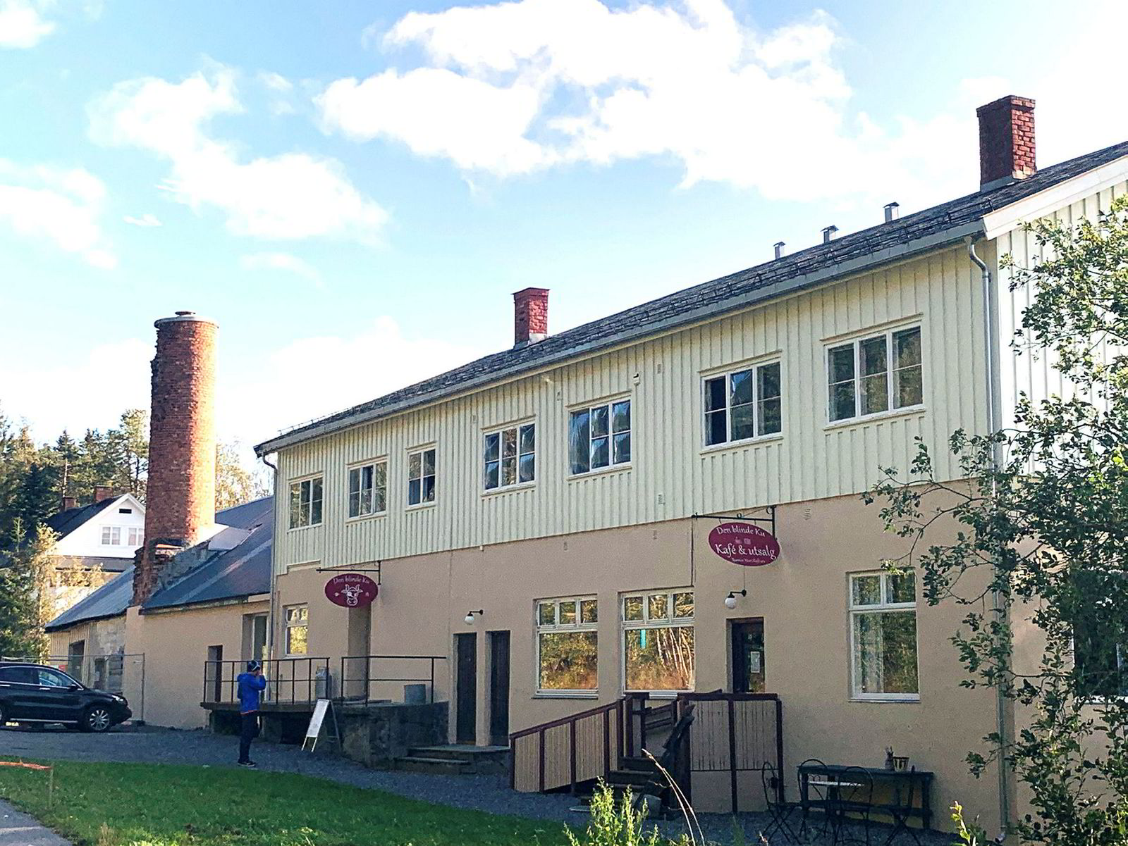 Den Blinde Ku flyttet produksjonen til et gammelt ysteri i Snertingdal i Gjøvik kommune i våres.