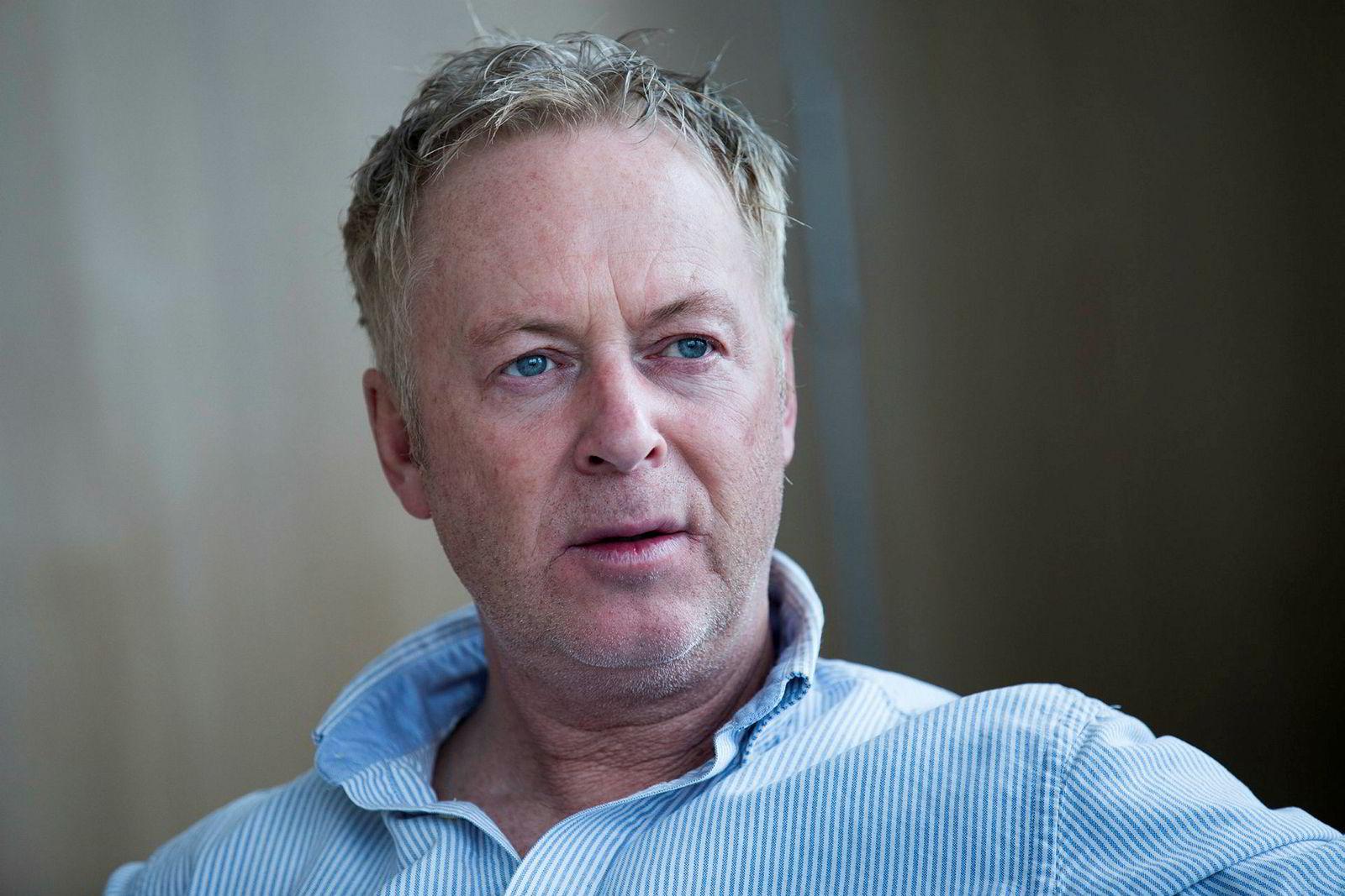 Avfallsmillionær Jonny Enger.