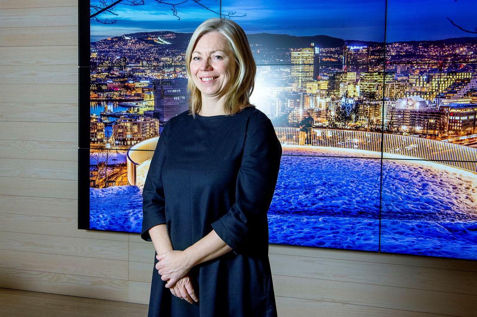 Trine Eilertsen ble ansatt som sjefredaktør i Aftenposten i 2019.
