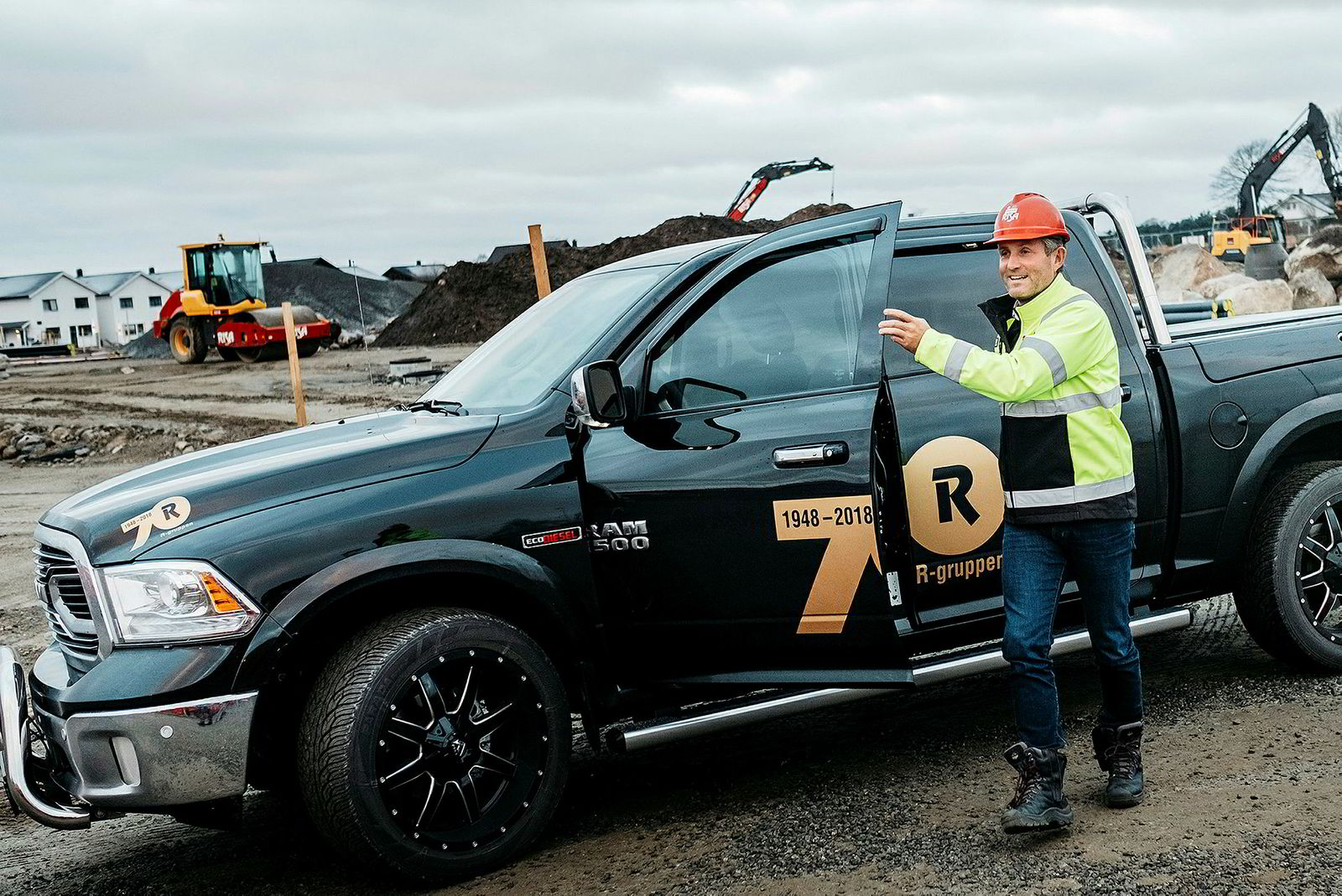 Administrerende direktør Bjørn Risa i anleggsselskapet Risa sendte permitteringsvarsel til 200 ansatte av selskapet 540 ansatte.