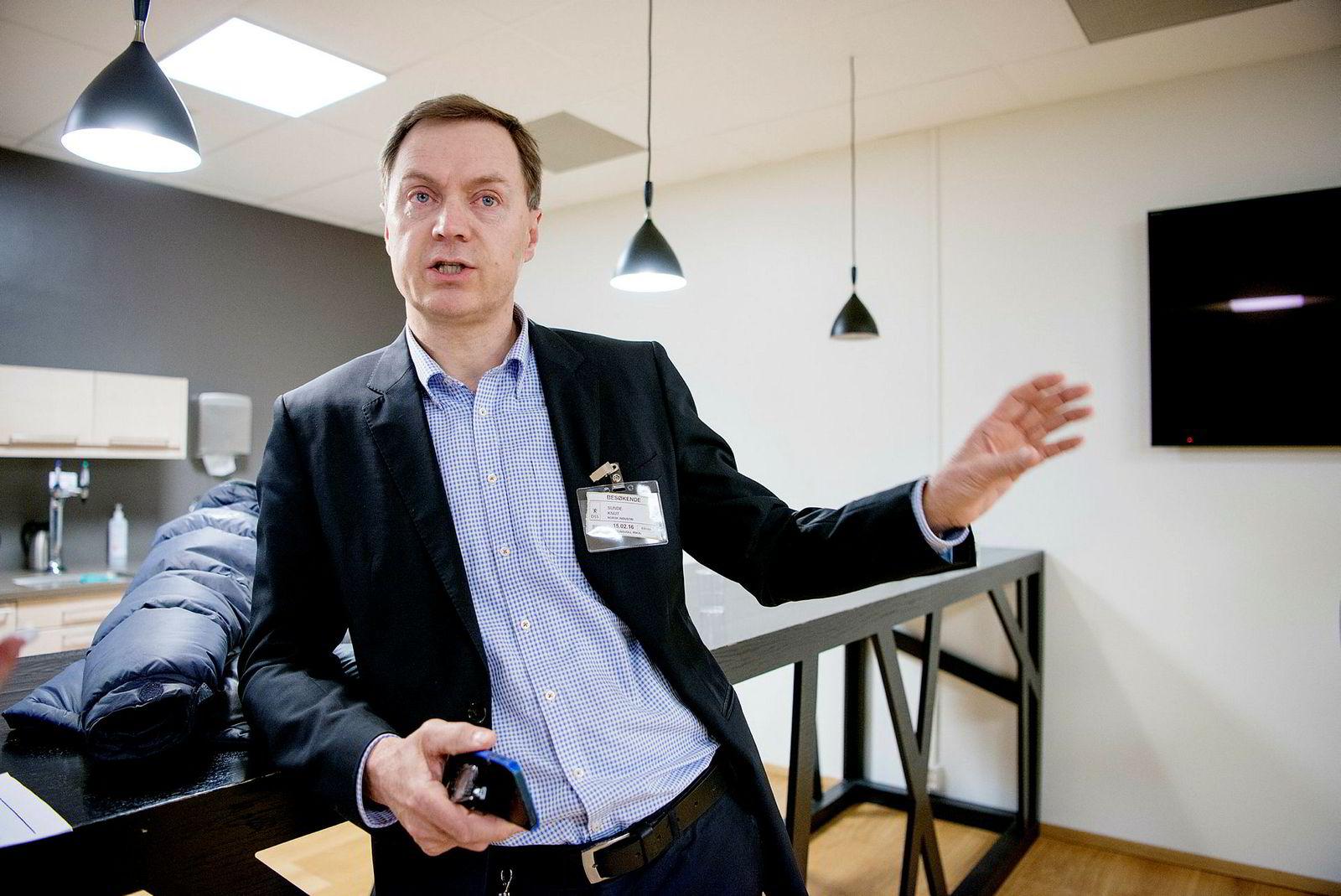 – Toyota-fabrikken i England bruker to millioner bildeler hver dag, sier Knut Sunde, direktør Norsk Industri.