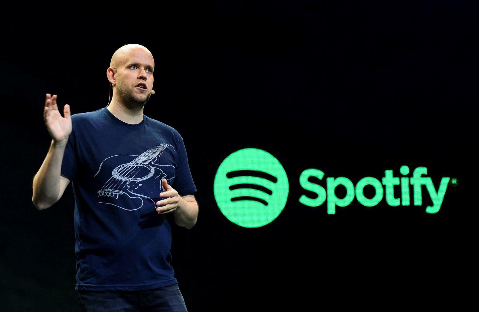 Gründer og toppsjef Daniel Ek i Spotify er steinrik etter børsnoteringen av Spotify.