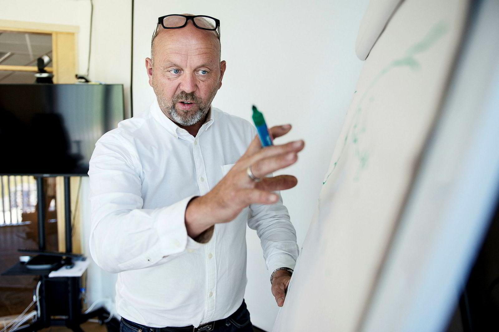 Selger seg ut: Investor Bjørn Rygg og hans BR Industrier selger seg helt ut av OneCo.