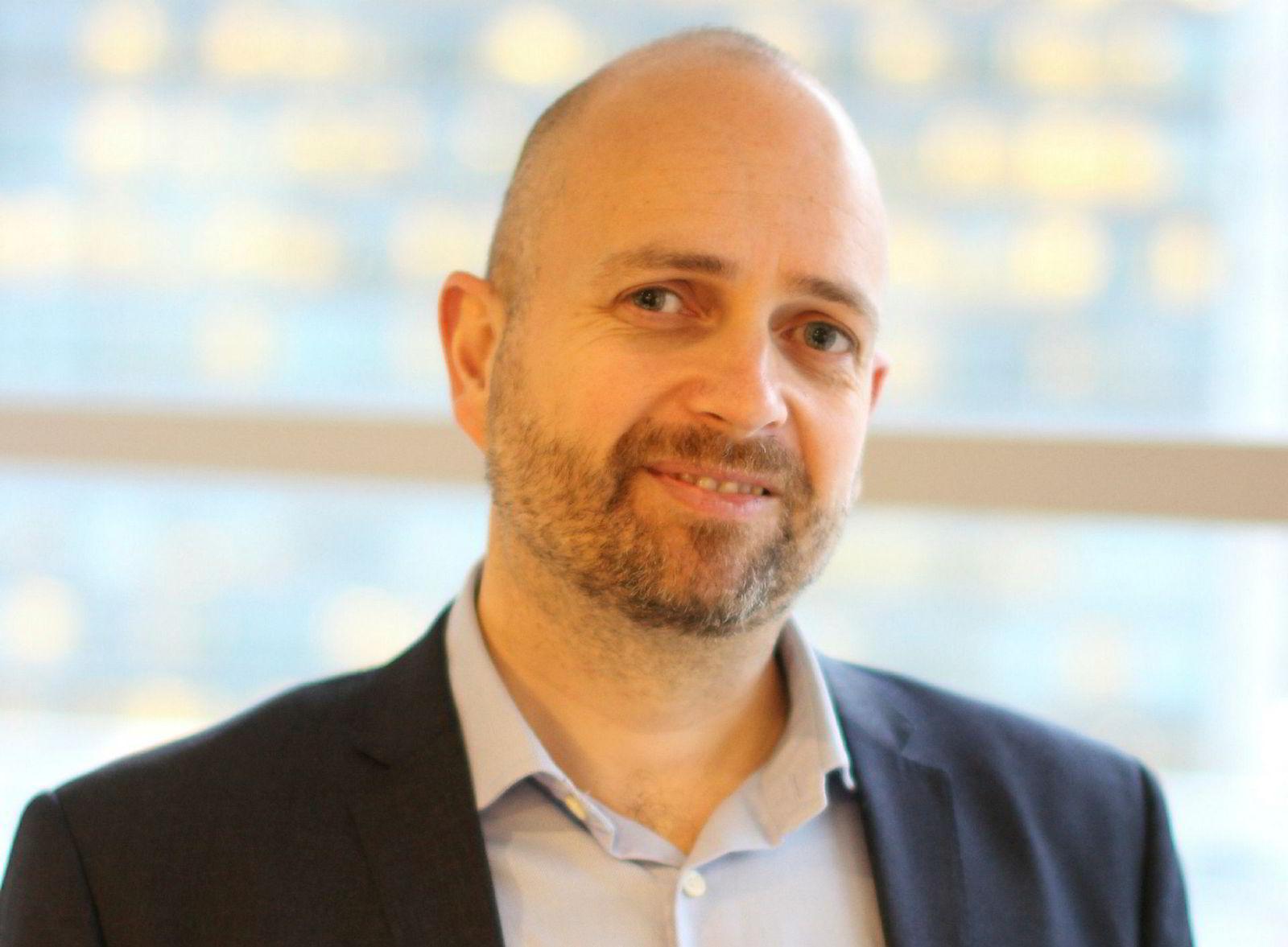 Jan Åge Skaathun er en av to gründere i Quantfolio og var tidligere med på å starte Itslearning. Nå får de Skandiabanken inn som storeier og kunde.