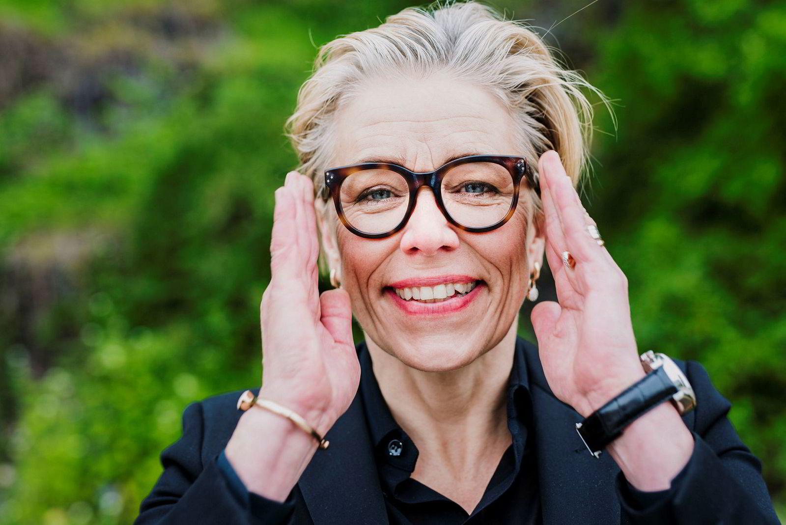 Maria Moræus Hanssen, konsernsjef i Dea.