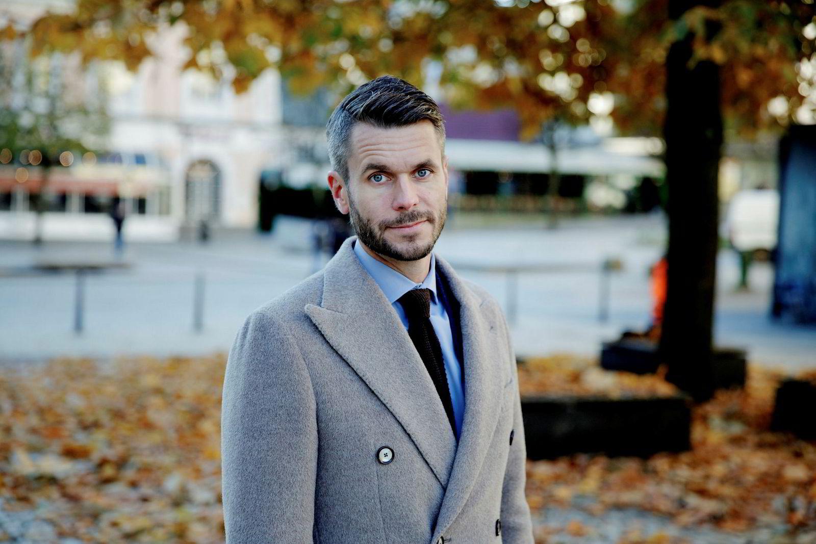 – Livredd for å kjede seg: Henrik Lie-Nielsen.