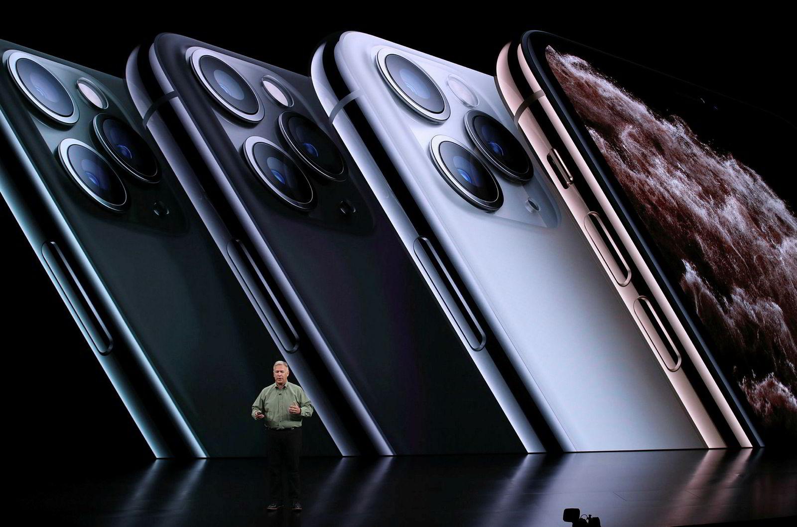 Iphone 11 Pro kommer også i en ny grønn utgave.
