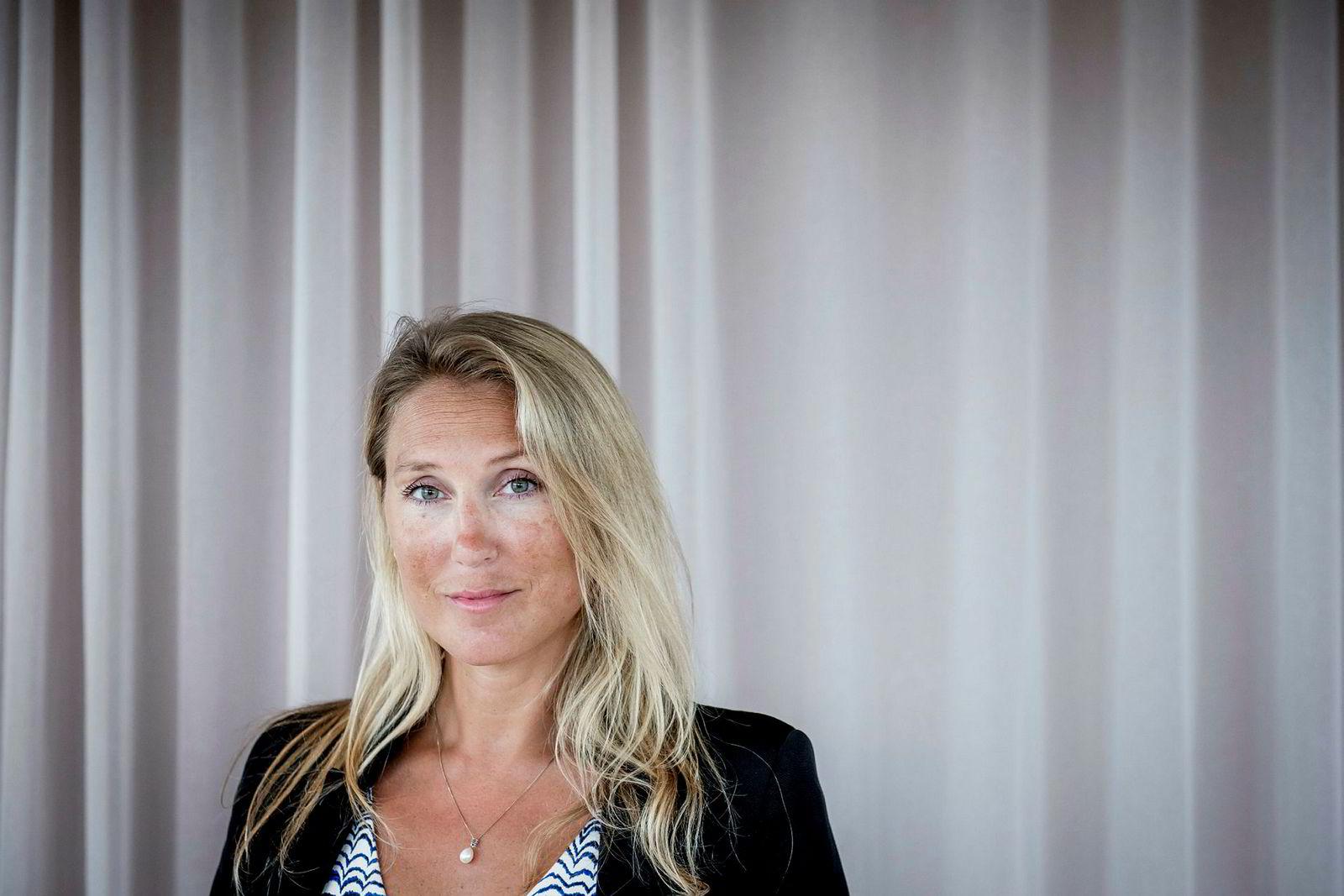 Sjefstrateg Erica Blomgren i SEB.
