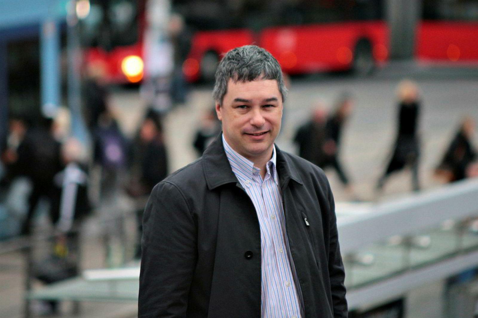 Endre Angelvik, direktør for mobilitet i Ruter.