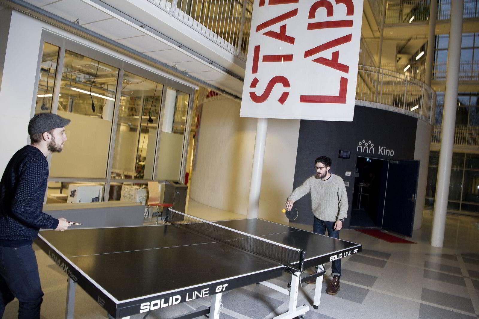 Socius har holdt til i Tyskland de siste to årene, men har nå flyttet selskapet til Norge og holder for tiden til på Startup Lab i Oslo.