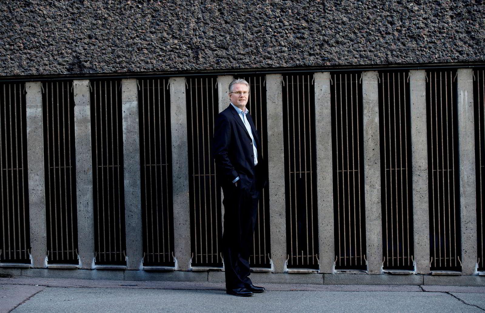 Forvalter Leif Eriksrød i Alfred Berg tror ikke det blir bedre for oljeserviceselskapene i 2019 heller.