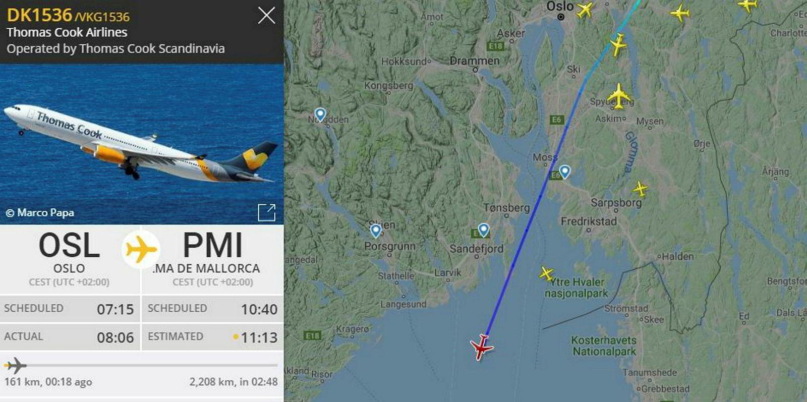 – Thomas Cook Airlines Skandinavia driver videre med oss. Vi flyr deres fly, skriver informasjonssjef for Ving i Norge, Siri Røhr-Staff, i en sms til DN tirsdag.