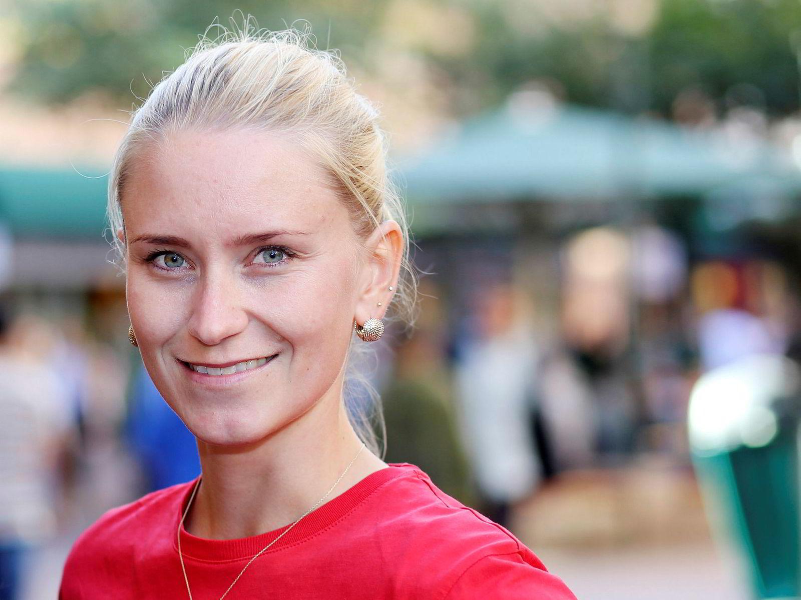 Line Oma (30) er bydelsordfører i Gamle Oslo og mener partiet ikke kan ha en nestleder som tenker med feil hode.
