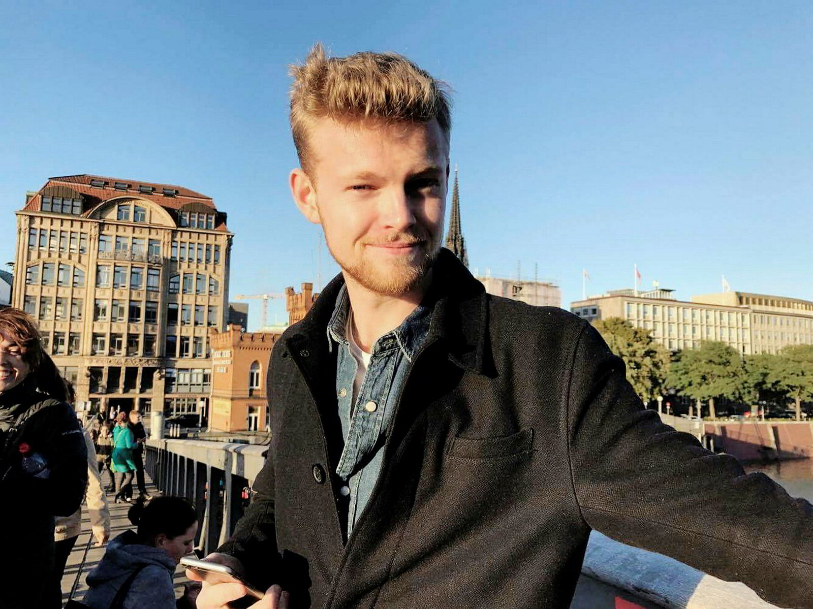 NHH-student Sander Riis Eilertsen startet debatten om miljøet på NHH i forrige uke.