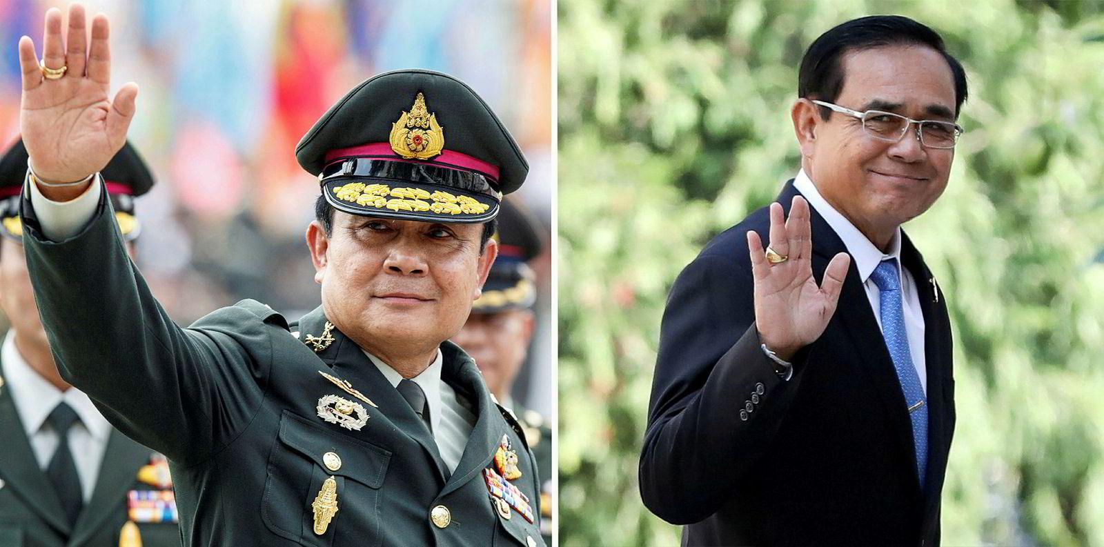Kuppleder Prayuth Chan-ocha har kastet uniformen og forsøker å bli statsminister etter det avholdes valg i Thailand i mars. Han vil få konkurranse fra en populær prinsesse.