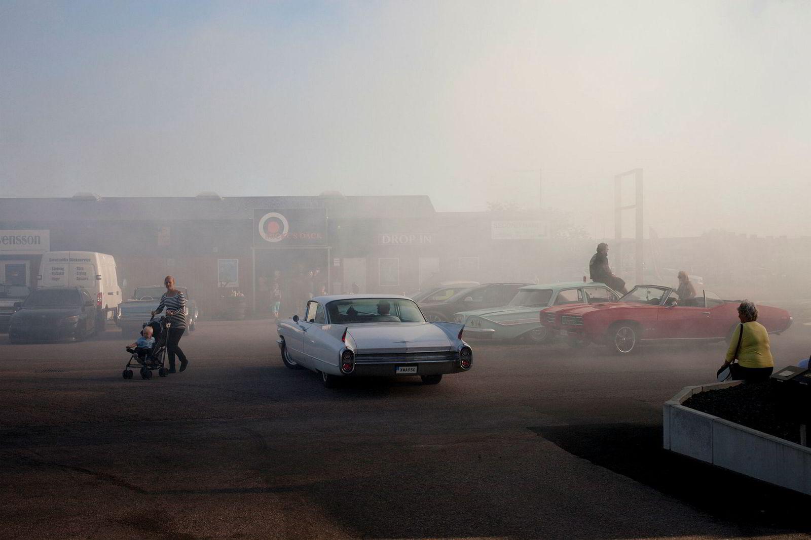 «En bil er ikke sint på deg. En bil er aldri forbanna. Jeg vil være ragger til jeg dør.» Carl Holmqvist (17).