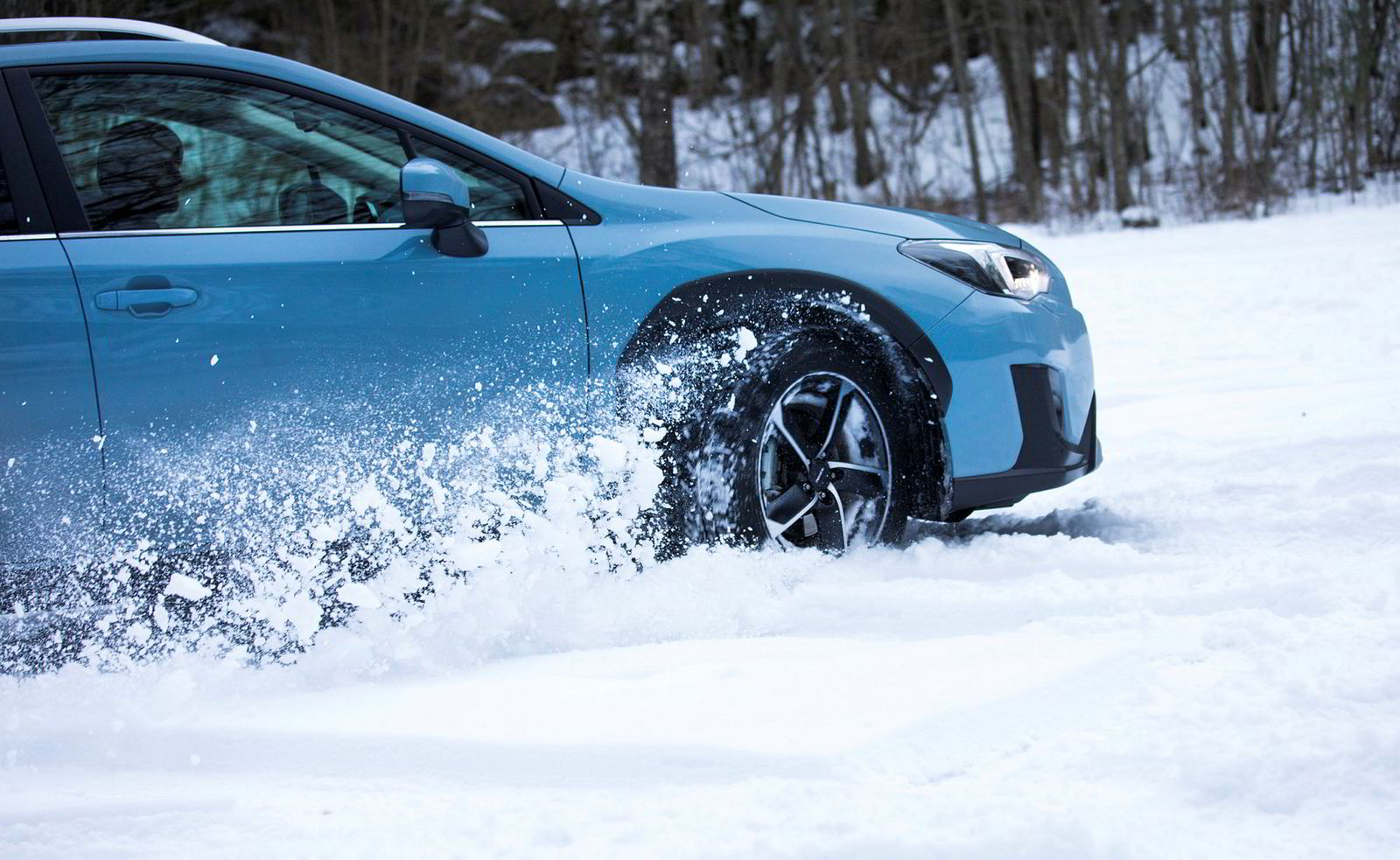 For Subaru-eiere er snøfall mer til glede enn ulempe.