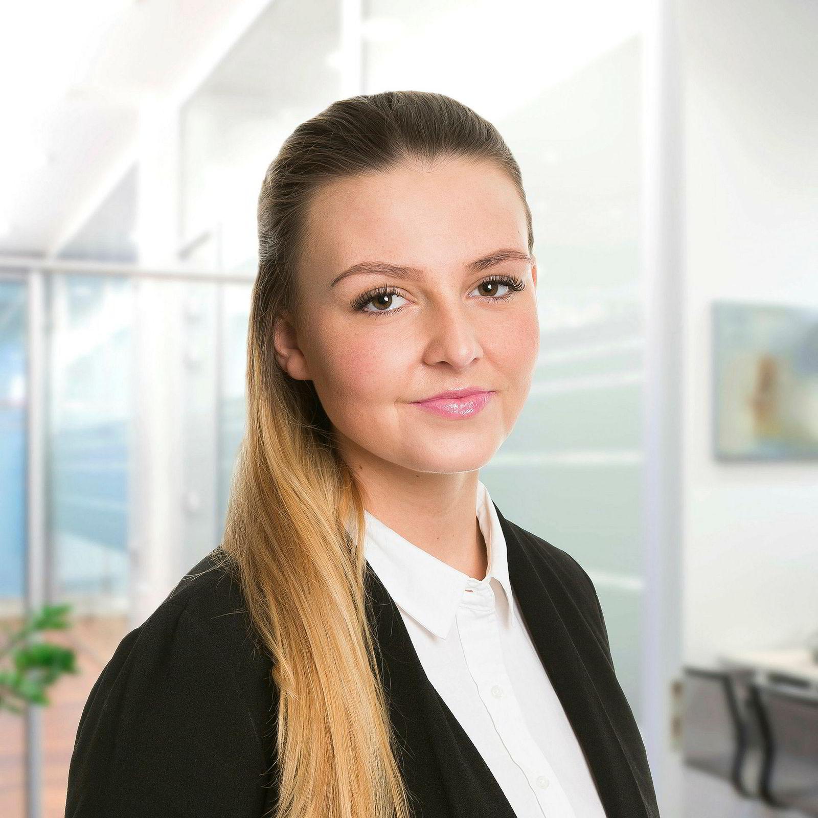 Eiendomsmeglerfullmektig Madeleine Aursøy Larsson i Eiendomsmegler 1