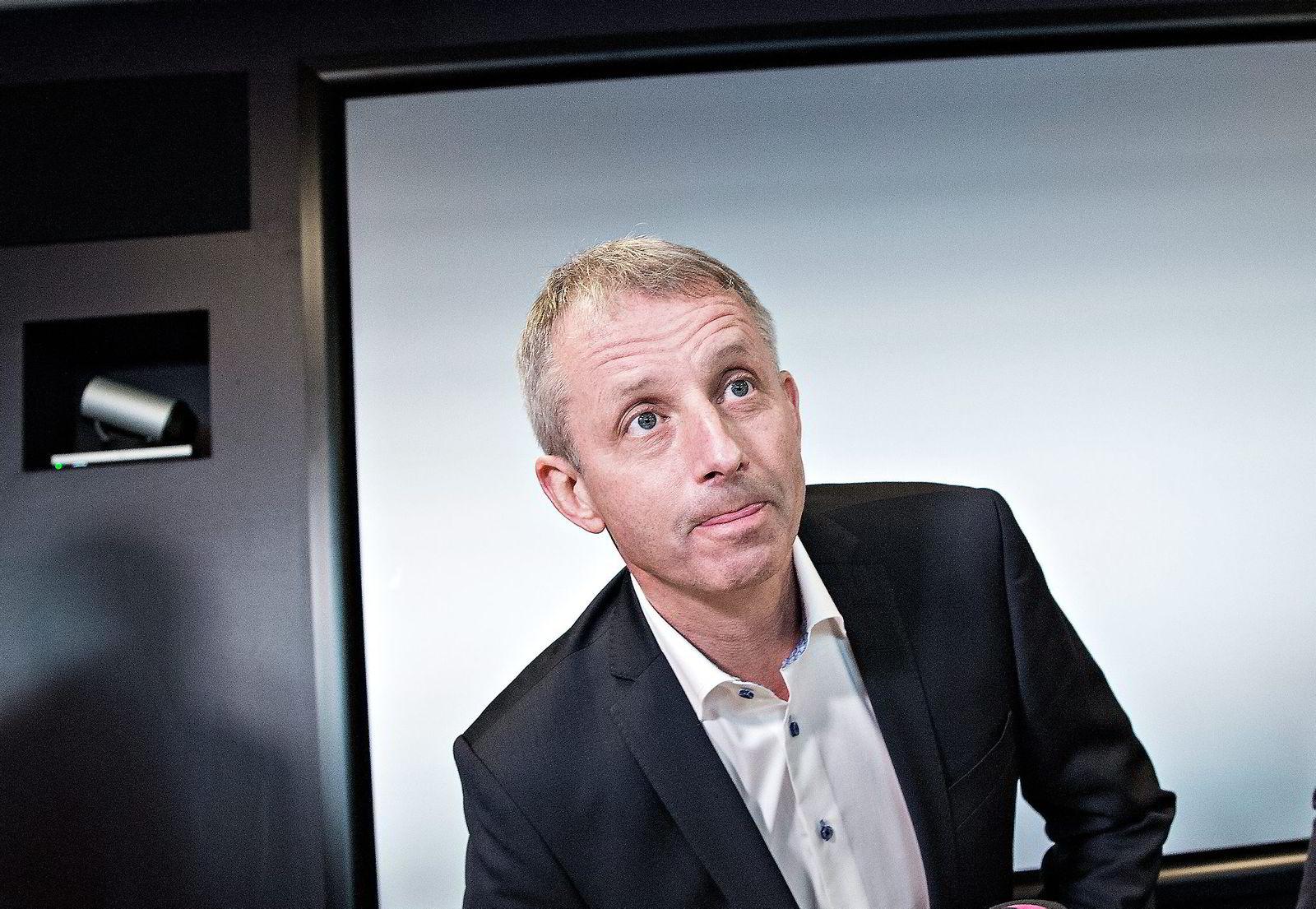 Korrupsjonssiktede Jo Lunder fikk en kort karriere i Fredriksen-systemet. Foto: Aleksander Nordahl
