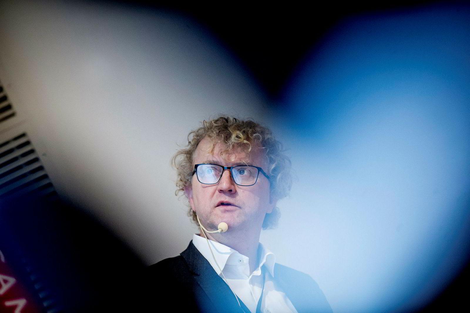 Sjeføkonom Jan Ludvig Andreassen i Eika-gruppen mener vi trenger lav rente for å unngå nedgangstider.