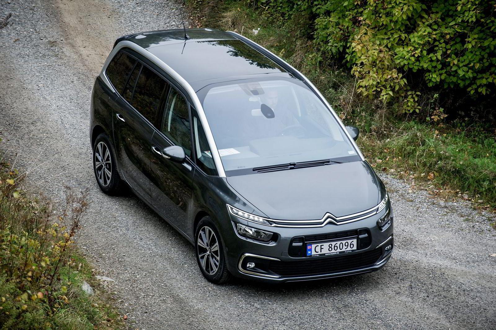 Citroën Grand C4 Picasso ble nummer tre. Foto: Gorm K. Gaare