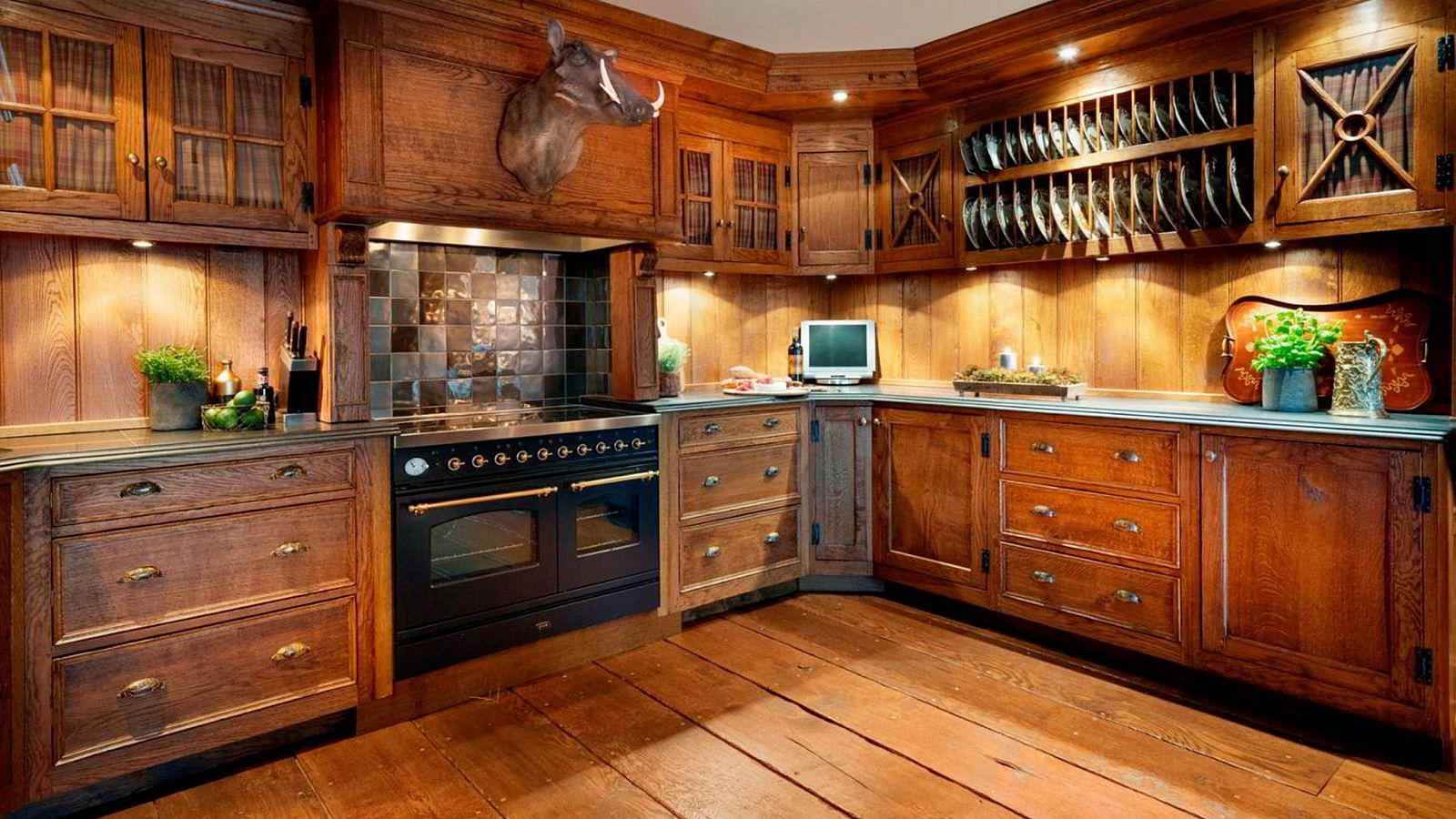 Kjøkken.