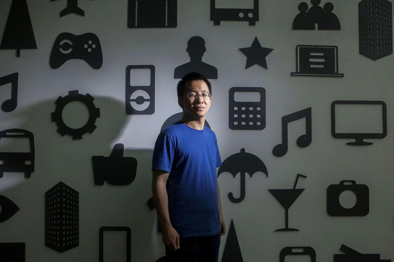 Zhang Yiming, grunnlegger av Bytedance, er god for 150 milliarder kroner.