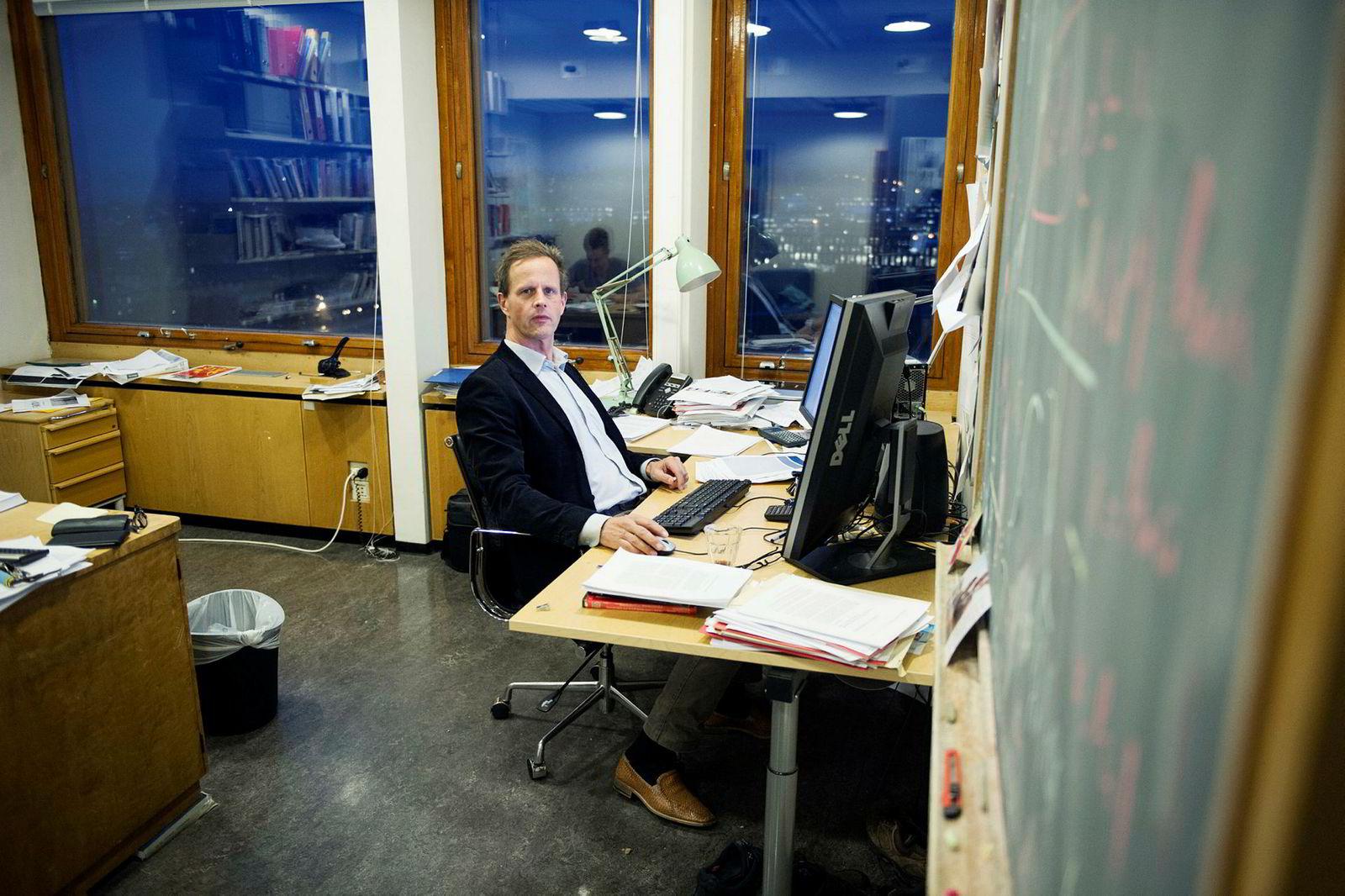 Økonomiprofessor Halvor Mehlum ved Universitetet i Oslo.